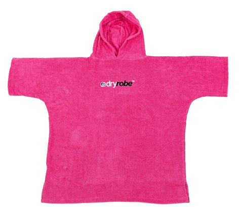 Kids Organic Towel dryrobe® - Pink - Atlantic Kayaks & Leisure