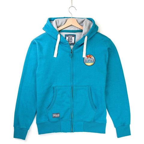 OLD GUYS RULE 'OUTDOOR ADVENTURE' ZIP HOODIE - TURQUOISE - Atlantic Kayaks & Leisure