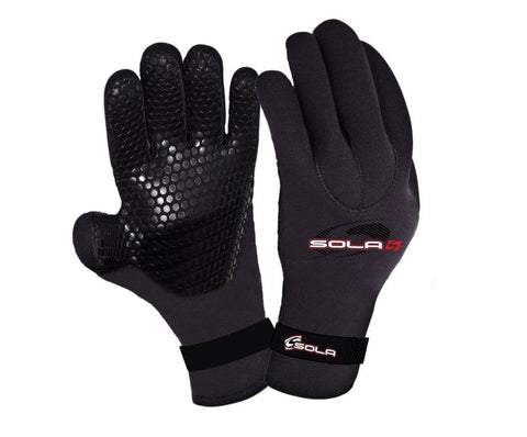 SOLA 3MM TITANIUM DOUBLE LINED GLOVES - Atlantic Kayaks & Leisure