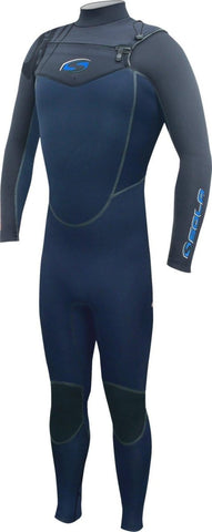 SOLA INFERNO MENS 5/4 FRONT ZIP FULLSUIT - NAVY - Atlantic Kayaks & Leisure