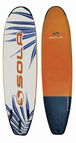 SOLA SOFTBOARD - NAVY/ORANGE - Atlantic Kayaks & Leisure