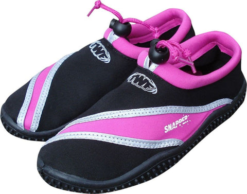 TWF SNAPPER BEACH SHOE - BLACK/PINK - Atlantic Kayaks & Leisure