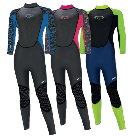 TWF XT3 3MM KIDS FULLSUIT (AGES 2-15) - Atlantic Kayaks & Leisure