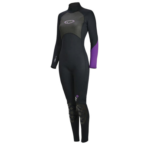 TWF XT3 LADIES 3MM FULLSUIT (PURPLE) - Atlantic Kayaks & Leisure