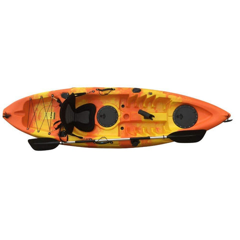 Pre-Order - Atlantic Wave (Orange/Yellow) - Atlantic Kayaks & Leisure