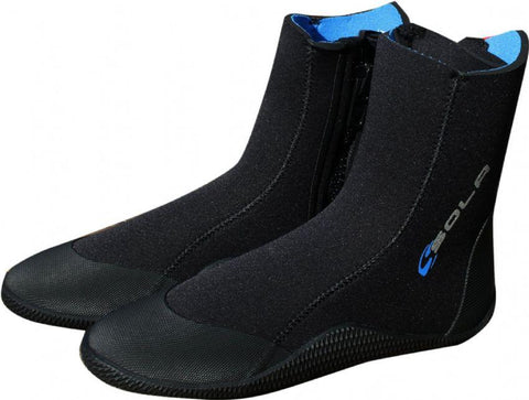 SOLA 5MM ADULT ZIP BOOT - Atlantic Kayaks & Leisure