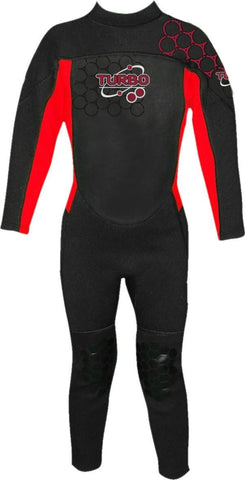 TURBO KIDS 2.5MM FULLSUIT (AGES 2-15) - Atlantic Kayaks & Leisure