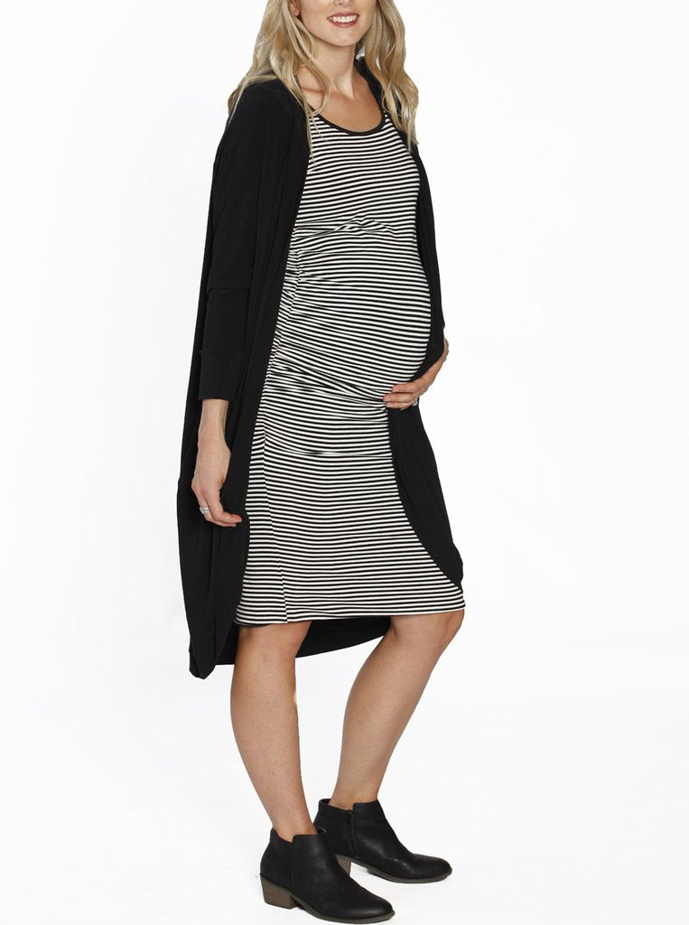 Reversible Dress & Long Scoop Cardigan - 3 Piece outfit!