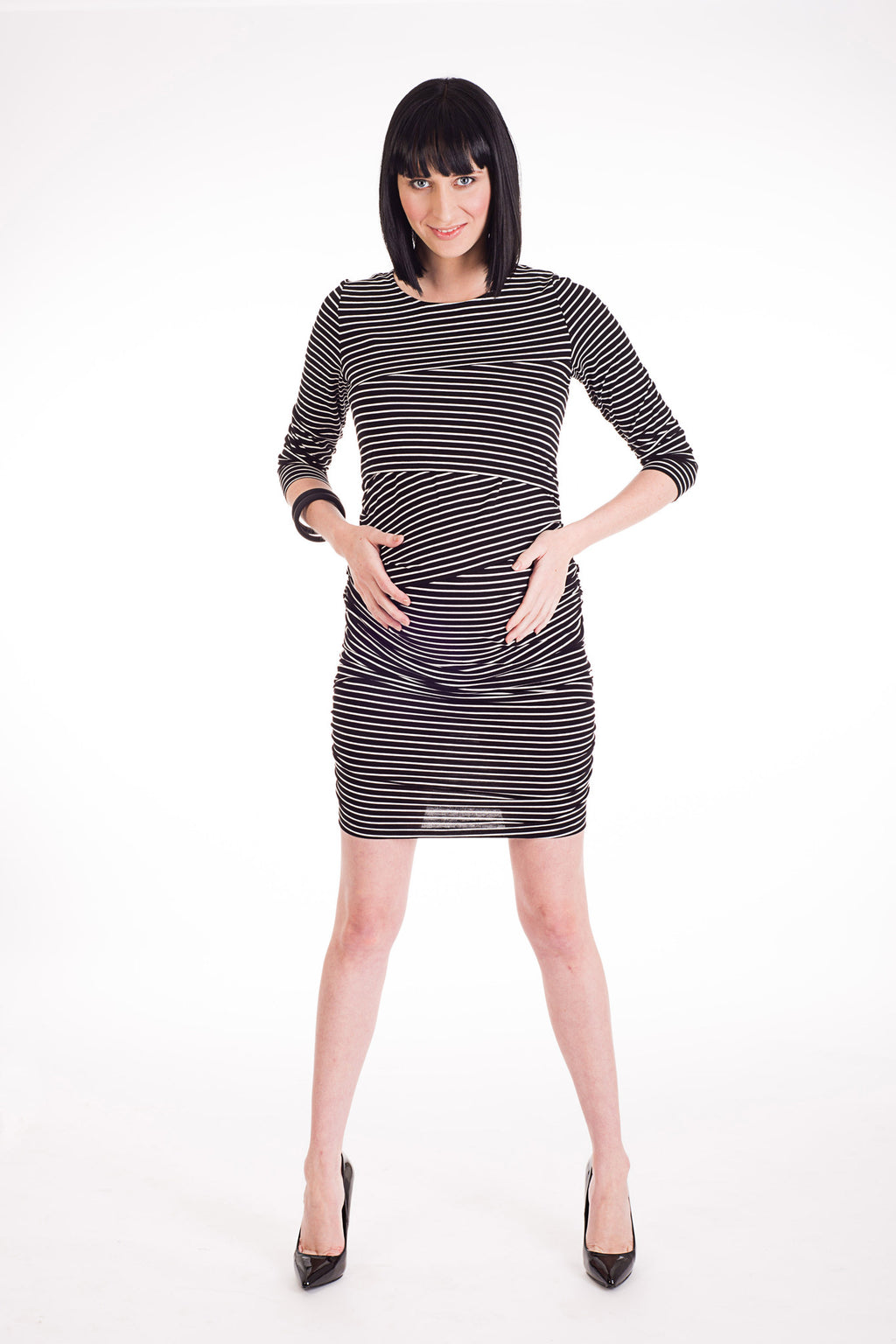 VERTICAL MILK DRESS | SIZE L | EGG Maternity