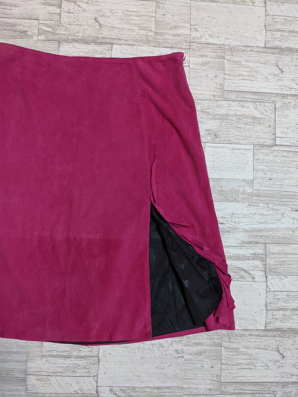DEANE & WHITE | Leather Skirt Sz 12