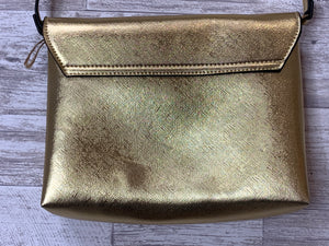 THE GORGEOUS COLLECTIVE | GOLD SHIMMER BAG