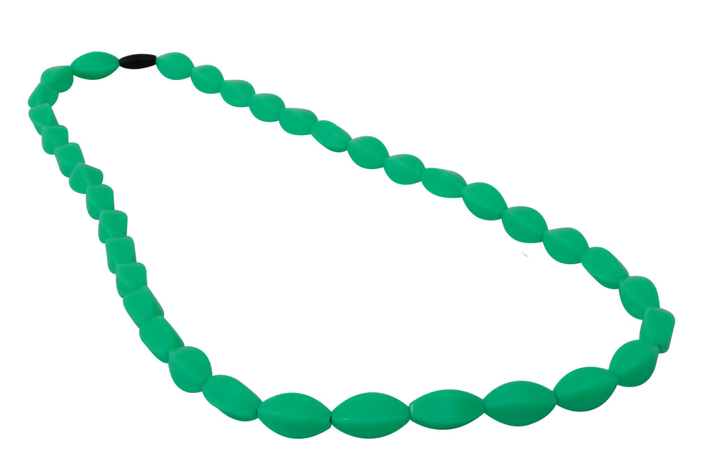 Tulip Bead Necklace Mint