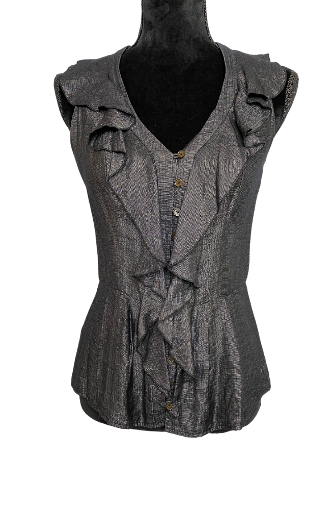 CUE | Sleeveless Blouse Sz 8