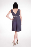 Sunray Dress - Charcoal