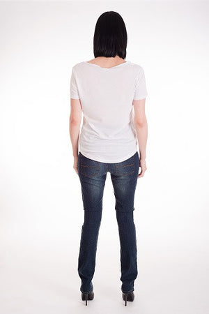 Worn in Skinny Jeans - Only size M left!