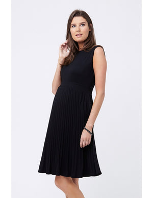 KNIFE PLEAT DRESS | SIZE XL | Ripe Maternity