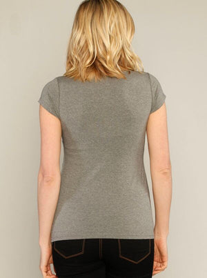 Basic Nursing Tee - Available in Dark and Light Grey!