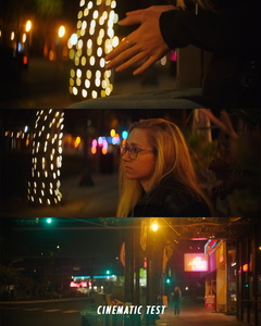 Snapfocal Anamorphic Flare Filter