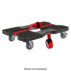 1200 lb GENERAL USE E-TRACK DOLLY Black