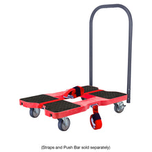 1,200 lb General Purpose E-Track Dolly Red