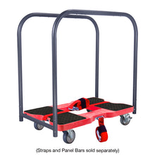 Load image into Gallery viewer, 1,200 lb General Purpose E-Track Dolly Red
