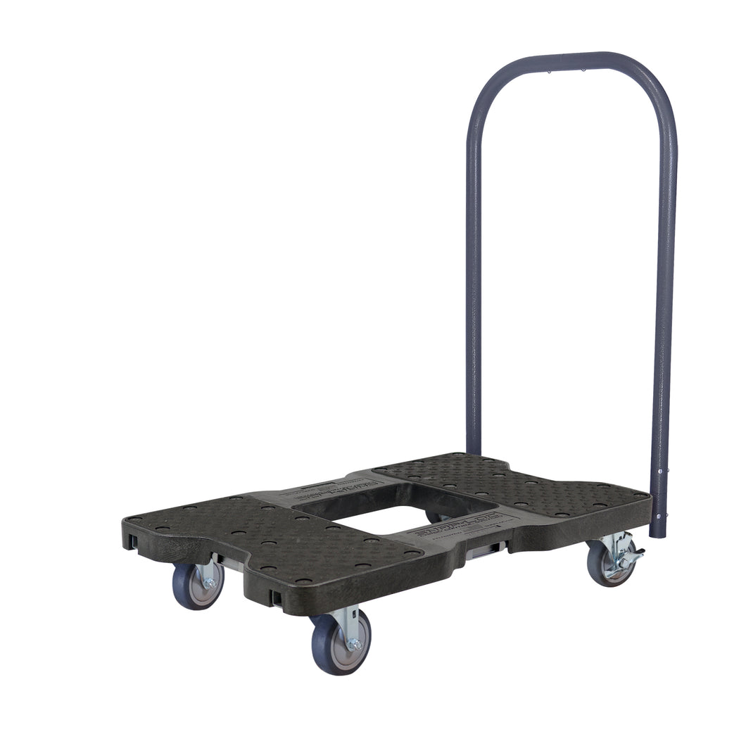 1,200 lb General Purpose E-Track Push Cart Dolly Black