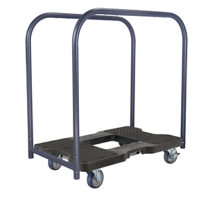 1,200 lb General Purpose E-Track Panel Cart Dolly Black