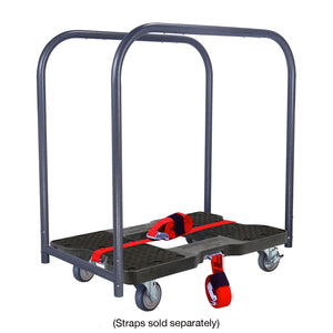 1200 lb GENERAL USE E-TRACK PANEL CART Black