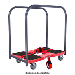 1200 lb GENERAL USE E-TRACK PANEL CART Red