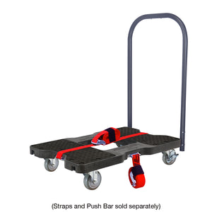 1,500 lb Industrial Strength E-Track Dolly Black