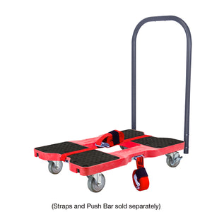 1500 lb INDUSTRIAL E-TRACK DOLLY Red