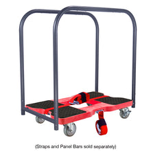 Load image into Gallery viewer, 1,500 lb Industrial Strength E-Track Dolly Red