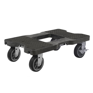 1,500 lb All-Terrain E-Track Dolly Black