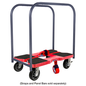 1,500 lb All-Terrain E-Track Dolly Red