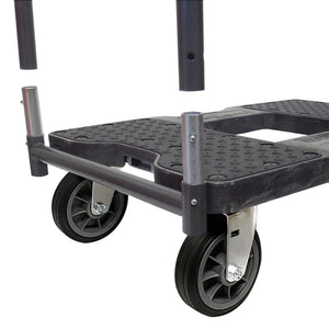 1500 lb ALL-TERRAIN E-TRACK PUSH CART Black