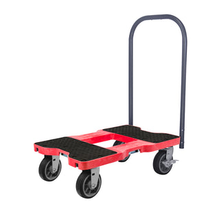 1,500 lb All-Terrain E-Track Push Cart Dolly Red