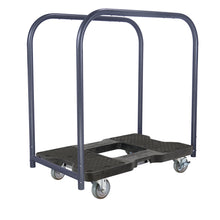 Load image into Gallery viewer, 1500 lb INDUSTRIAL E-TRACK PANEL CART Black