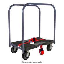 Load image into Gallery viewer, 1500 lb ALL-TERRAIN E-TRACK PANEL CART DOLLY BK