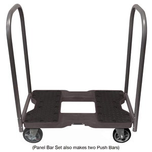 1500 lb ALL-TERRAIN E-TRACK PANEL CART DOLLY BK