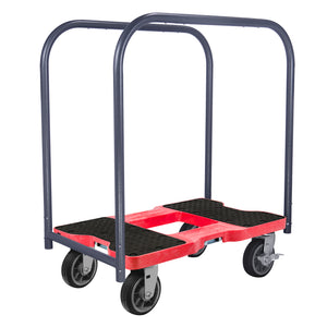 1,500 lb All-Terrain E-Track Panel Cart Dolly Black