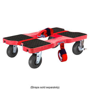1,600 lb Extreme-Duty E-Track Dolly Red
