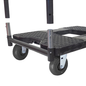 1,600 lb Extreme-Duty Black-Ops E-Track Push Cart Dolly