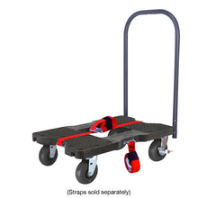Load image into Gallery viewer, 1,600 lb Extreme-Duty Black-Ops E-Track Push Cart Dolly