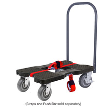 Load image into Gallery viewer, 1800 lb SUPER-DUTY E-TRACK DOLLY Black