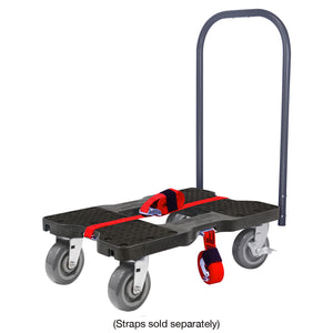 1,800 lb Super-Duty E-Track Push Cart Dolly Black