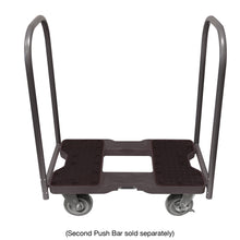 Load image into Gallery viewer, 1,800 lb Super-Duty E-Track Push Cart Dolly Black
