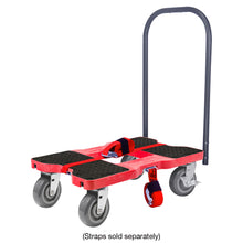 Load image into Gallery viewer, 1,800 lb Super-Duty E-Track Push Cart Dolly Red