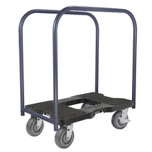 Load image into Gallery viewer, 1,800 lb Super-Duty E-Track Panel Cart Dolly Black