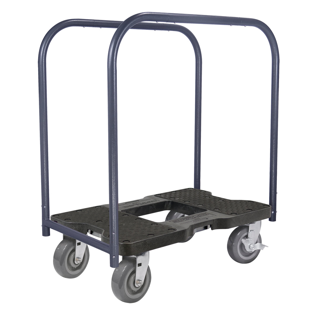 1800 lb SUPER-DUTY E-TRACK PANEL CART Black
