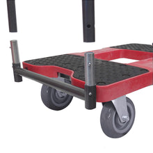 Load image into Gallery viewer, 1,800 lb Super-Duty E-Track Panel Cart Dolly Red